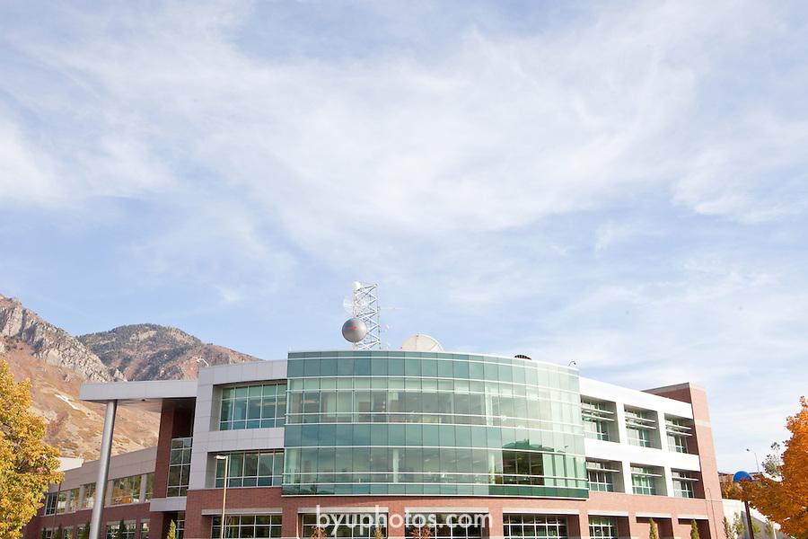 1110-59 095.CR2<br /> <br /> 1110-59 GCS Broadcast Building<br /> <br /> October 24, 2011<br /> <br /> Photo by Jaren Wilkey/BYU<br /> <br /> © BYU PHOTO 2011<br /> All Rights Reserved<br /> photo@byu.edu  (801)422-7322