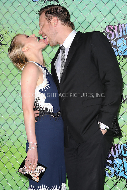 www.acepixs.com<br /> August 1, 2016  New York City<br /> <br /> Leven Rambin and Jim Parrack attending the world premiere of Warner Bros. Pictures and Atlas Entertainment&rsquo;s 'Suicide Squad' at the Beacon Theatre on August 1, 2016 in New York City.<br /> <br /> <br /> Credit: Kristin Callahan/ACE Pictures<br /> <br /> <br /> Tel: 646 769 0430<br /> Email: info@acepixs.com