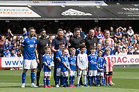The Mascots, officials and captains during Ipswich Town vs Sunderland AFC, Sky Bet EFL League 1 Football at Portman Road on 10th August 2019