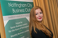 Charlotte Moreland of Nottingham City Business Club