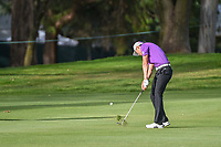 HaoTong Li (CHN) hits his approach shot on 6 during round 2 of the World Golf Championships, Mexico, Club De Golf Chapultepec, Mexico City, Mexico. 2/22/2019.<br /> Picture: Golffile   Ken Murray<br /> <br /> <br /> All photo usage must carry mandatory copyright credit (© Golffile   Ken Murray)
