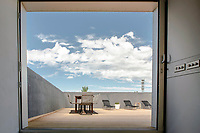 BNPS.co.uk (01202 558833)<br /> Pic: SpenceWillard/BNPS<br /> <br /> Sun trap...<br /> <br /> Listen Up...WW2 radar station that helped The Few defeat Goerings Luftwaffe for sale.<br /> <br /> A historic Battle of Britain radar station has emerged for sale for almost £1million after it was converted into an ultra-modern holiday home.<br /> <br /> The Old Radar Station is located on St Boniface Down, near Ventnor, on the highest point of the Isle of Wight.<br /> <br /> Built in 1938 to defend British shores as the threat of war loomed, it offers breathtaking 360 degree views across the island and the English Channel.