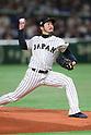 Ayumu Ishikawa (JPN), <br /> MARCH 7, 2017 - WBC : <br /> 2017 World Baseball Classic <br /> First Round Pool B Game <br /> between Japan 11-6 Cuba <br /> at Tokyo Dome in Tokyo, Japan. <br /> (Photo by YUTAKA/AFLO SPORT)