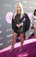 "HOLLYWOOD, CA June 21- Brooke Hogan, At Premiere Of Netflix's ""GLOW"" at The ArcLight Cinemas Cinerama Dome, California on June 21, 2017. Credit: Faye Sadou/MediaPunch"
