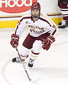 Chris Kreider (BC - 19) - The Boston College Eagles defeated the University of Massachusetts-Amherst Minutemen 3-2 to take their Hockey East Quarterfinal matchup in two games on Saturday, March 10, 2012, at Kelley Rink in Conte Forum in Chestnut Hill, Massachusetts.