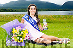 Aoife Farrell Muckross RC the 2016 Regatta Queen who was chosen at social in the Killarney Oaks Hotel on Tuesday night