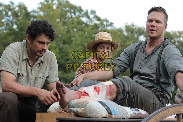 James Franco, Ahna O&rsquo;Reilly, Jim Parrack<br /> in As I Lay Dying (2013) <br /> *Filmstill - Editorial Use Only*<br /> CAP/NFS<br /> Image supplied by Capital Pictures