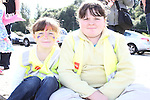 Chantell and Chloe Smith at the Garda Station Open Day...Picture Jenny Matthews/Newsfile.ie