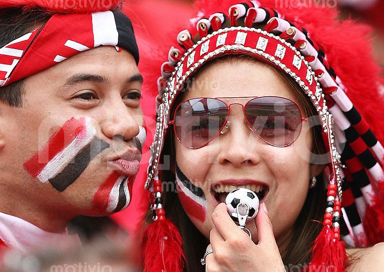 Fussball WM 2006  Gruppenspiel  Vorrunde England 2-0 Trinidad & Tobago Fans (TRIN)