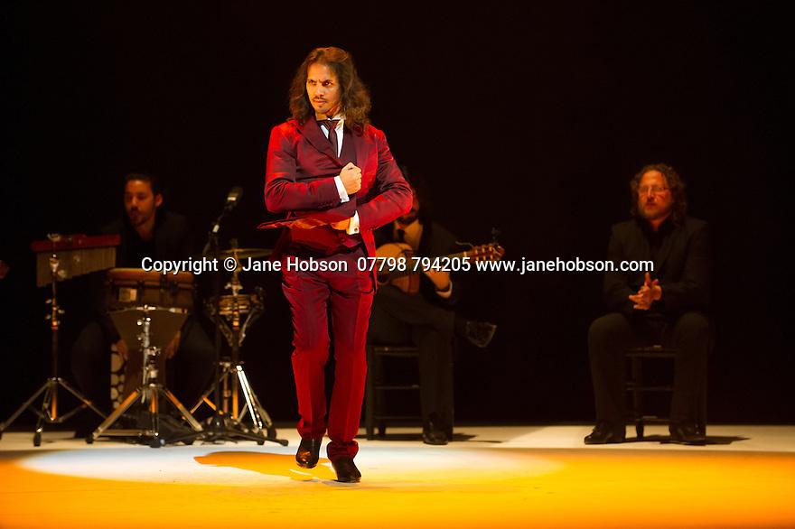 London, UK. 14.03.2014. Farruquito  (Juan Manuel Fernandez Montoya) in IMPROVISAO, at Sadler's Wells, as part of the Flamenco Festival London 2014. Picture shows: Farruquito. Photograph © Jane Hobson.