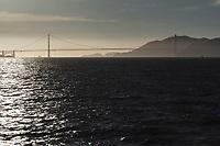 San Francisco nella foto la baia al tramonto con il Golden Gate geografico San Francisco 25/09/2017 foto Matteo Biatta<br /><br />San Francisco in the picture the bay during the sunset with Golden Gate geographic San Francisco 25/09/2017 photo by Matteo Biatta