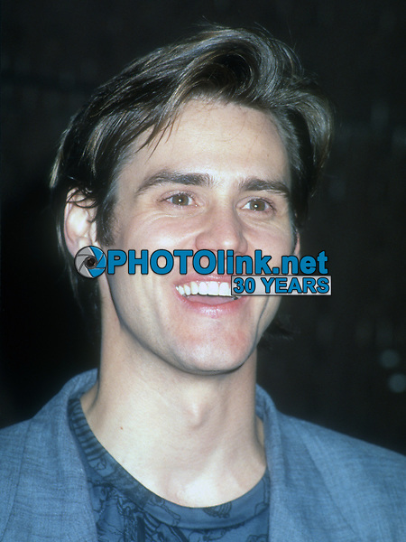 Jim Carrey, 1992, Photo By Michael Ferguson/PHOTOlink