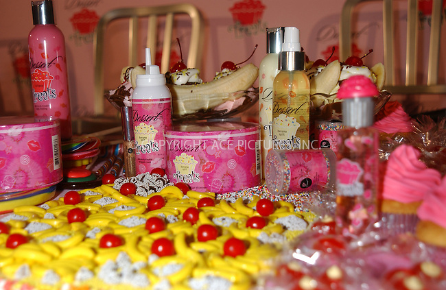 "WWW.ACEPIXS.COM . . . . . ....NEW YORK, FEBRUARY 9, 2005....The products at the unveiling of her new fragrance and body care line ""Dessert Treats.""....Please byline: KRISTIN CALLAHAN - ACE PICTURES.. . . . . . ..Ace Pictures, Inc:  ..Philip Vaughan (646) 769-0430..e-mail: info@acepixs.com..web: http://www.acepixs.com"