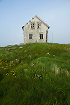 Old fisherman house on Rost island