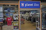 Planet Blue Ipswich Town football club shop, Ipswich, Suffolk, England