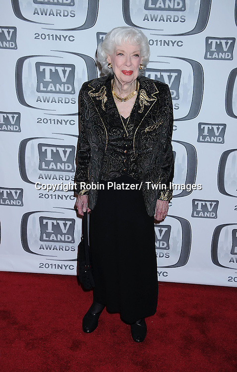Joyce Randolph attending The TV Land Awards 2011 .on April 10, 2011 at the Jacob Javits Center in New York City.