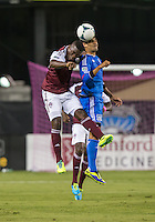 Santa Clara, California -Saturday, August 3, 2013: San Jose Earthquakes defeated Colorado Rapids 1 - 0 at Buck Shaw Stadium