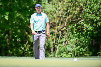Jordan Spieth (USA) chases his putt to the hole on 2 during round 1 of the Shell Houston Open, Golf Club of Houston, Houston, Texas, USA. 3/30/2017.<br /> Picture: Golffile | Ken Murray<br /> <br /> <br /> All photo usage must carry mandatory copyright credit (&copy; Golffile | Ken Murray)