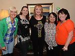 The Samba Mamas Anne Murphy, May Fagan, Kim Martin, Jane Meade and Caroline Moran pictured at Tamara Martin's 18th birthday. Photo:Colin Bell/pressphotos.ie
