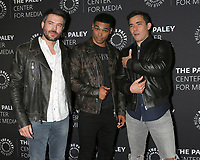 """LOS ANGELES - NOV 19:  Charlie Weber, Rome Flynn, Conrad Ricamora at the  """"How To Get Away With Murder"""" Final Season Celebration at Paley Center for Media on November 19, 2019 in Beverly Hills, CA"""
