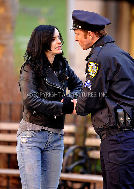 WWW.ACEPIXS.COM<br /> <br /> March 24 2015, New York City<br /> <br /> Actress Krysten Ritter was on the set of the new TV show 'AKA Jessica Jones' on March 24 2015 in New York City<br /> <br /> <br /> By Line: Curtis Means/ACE Pictures<br /> <br /> <br /> ACE Pictures, Inc.<br /> tel: 646 769 0430<br /> Email: info@acepixs.com<br /> www.acepixs.com