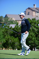 Seamus Power (IRL) departs 10 after sinking his putt during round 4 of the Valero Texas Open, AT&amp;T Oaks Course, TPC San Antonio, San Antonio, Texas, USA. 4/23/2017.<br /> Picture: Golffile | Ken Murray<br /> <br /> <br /> All photo usage must carry mandatory copyright credit (&copy; Golffile | Ken Murray)
