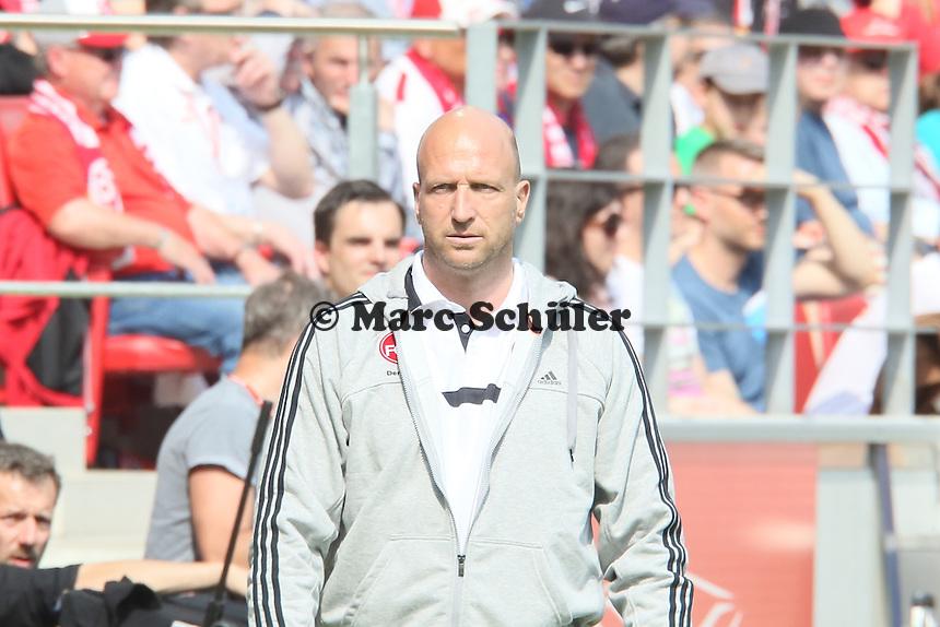 Trainer Roger Prinzen (Nuernberg) - 1. FSV Mainz 05 vs. 1. FC Nürnberg, Coface Arena,