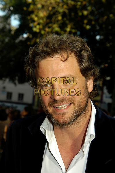 "COLIN FIRTH.""Nanny McPhee"" world film premiere, Leicester Square.London 9 October 2005.Ref: IA.portrait headshot beard facial hair .www.capitalpictures.com.sales@capitalpictures.com.©Capital Pictures"