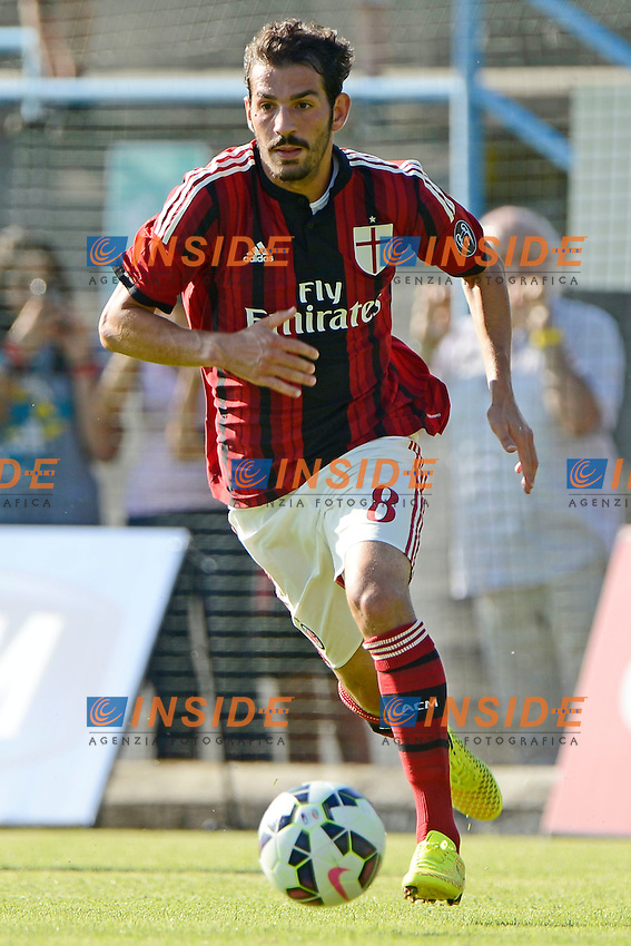 Riccardo Saponara Milan<br /> Solbiate Arno 16-07-2014 Stadio Felice Chinetti - Football 2014/2015 amichevole. Milan - Renate Foto Giuseppe Celeste / Insidefoto