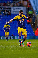 Saturday 25 January 2014<br /> Pictured: Alejandro Pozuelo<br /> Re: Birmingham City v Swansea City FA Cup fourth round match at St. Andrew's Birimingham