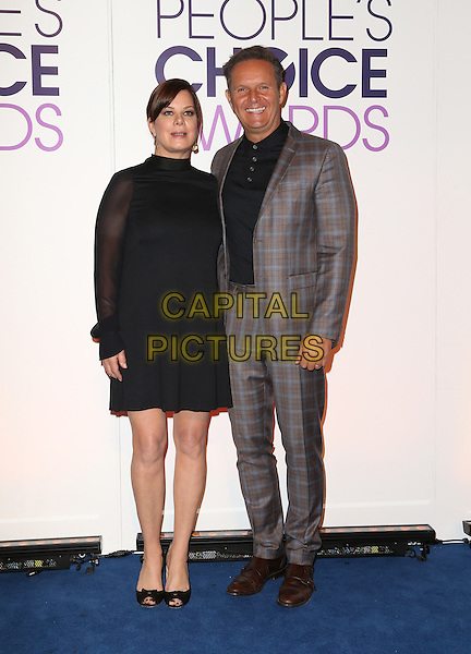 Beverly Hills, CA - November 03 Marcia Gay Harden, Mark Burnett Attending People's Choice Awards 2016 - Nominations Press Conference At The Paley Center for Media On November 03, 2015. <br /> CAP/MPI/UPAFS<br /> &copy;FSUPA/MPI/Capital Pictures