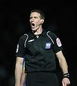 Referee Darren Sheldrake . - Stevenage v Leyton Orient- npower League 1 - Lamex Stadium, Stevenage - 2nd January 2012  .© Kevin Coleman 2012