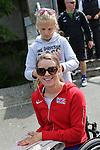 IPC European Athletics Championship 2014<br /> Josie Pearson<br /> Tented Village<br /> Swansea University<br /> <br /> 21.08.14<br /> ©Steve Pope-SPORTINGWALES