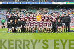The Tralee CBS v Omagh CBS in the All Ireland Colleges Senior Football Final at Croke Park on Sunday.