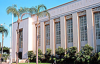 San Diego: Old Main Post Office, 815 E St., 1936. William Templeton Johnson. NHRP 1985. Art Deco. Photo '80.