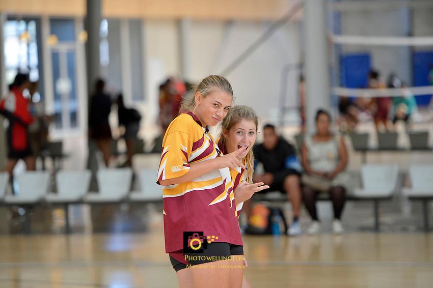 CSW Volleyball Senior Tournament at ASB Sports Center, Wellington, New Zealand on Friday 1 March 2013.<br /> Photo by Masanori Udagawa www.photowellington.photoshelter.com