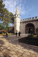 Türkei, im Topkapi Palast(Topkapi Saray) in Istanbul, Tor zum 2. Hof , UNESCO-Weltkulturerbe