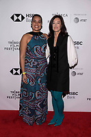 "NEW YORK CITY - APRIL 22: Adjani Costa and Clara Wu Tsai attend National Geographic's ""Into The Okavango"" Screening at Tribeca Film Festival at Tribeca Festival Hub on April 22, 2018 in New York City. (Photo by Anthony Behar/National Geographic/PictureGroup)"