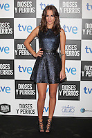 Silvia Alonso poses at `Dioses y perros´ film premiere photocall in Madrid, Spain. October 07, 2014. (ALTERPHOTOS/Victor Blanco) /nortephoto.com