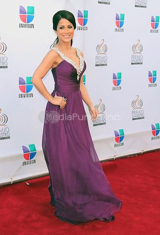 Jackie Guerrido at Univision's Premio Lo Nuestro a La Musica Latina Awards at AmericanAirlines Arena in Miami, Florida. February 17, 2011. © MPI10 / MediaPunch Inc.