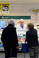 Roma, 5 Aprile 2017<br /> Banco del pesce.<br /> Esselunga del prenestino.<br /> Apre il primo Superstore di Esselunga a Roma, in Via Palmiro Togliatti.