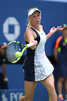 FLUSHING NY- AUGUST 31: Caroline Wozniacki Vs Svetlana Kuznetsova on Arthur Ashe Stadium at the USTA Billie Jean King National Tennis Center during the 2016 US Open on August 31, 2016 in Flushing, Queens. Credit: mpi04/MediaPunch