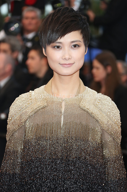 WWW.ACEPIXS.COM....US Sales Only....May 22 2013, Cannes....Li Yuchun at the premiere of 'All Is Lost' during the 66th Cannes Film Festival on May 22 2013 in France ....By Line: Famous/ACE Pictures......ACE Pictures, Inc...tel: 646 769 0430..Email: info@acepixs.com..www.acepixs.com