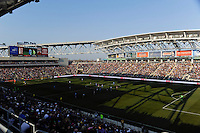 A general view of PPL. The Colorado Rapids defeated the Philadelphia Union 2-1 during a Major League Soccer (MLS) match at PPL Park in Chester, PA, on March 18, 2012.