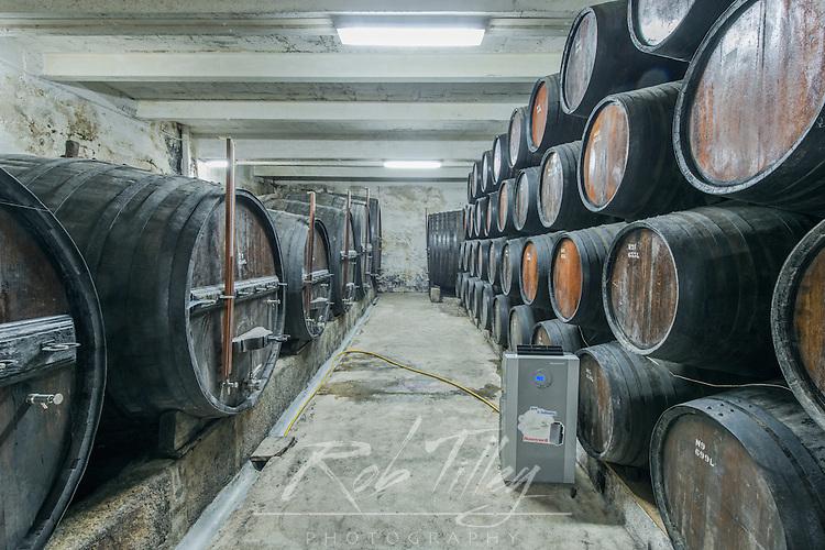 Portugal, Douro Valley, Peso da Regua, Wine Cellar