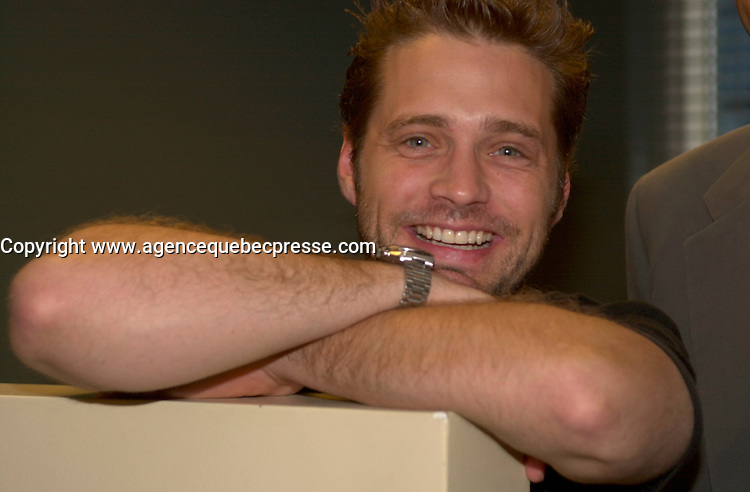 sept 2,  2003, Montreal, Quebec, Canada<br /> <br /> Jason Priestly actor in DIE MOMMY DIE<br /> <br /> The Festival runs from August 27th to september 7th, 2003<br /> <br /> <br /> Mandatory Credit: Photo by Pierre Roussel- Images Distribution. (&copy;) Copyright 2003 by Pierre Roussel <br /> <br /> All Photos are on www.photoreflect.com, filed by date and events. For private and media sales