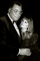 James Earl Jones and wife Undated<br /> Photo By Adam Scull/PHOTOlink.net