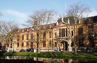 Nederland Rotterdam 2015. Voormalig Gerechtsgebouw aan de Noordsingel in Rotterdam