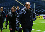 Preston North End manager Simon Grayson attends the FA Youth Cup 3rd Round match at Deepdale Stadium, Preston. Picture date: November 30th, 2016. Pic Matt McNulty/Sportimage