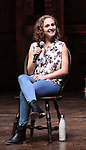Hope Endrenyi  during the an eduHAM Q & A panel with the cast of Broadway's 'Hamilton' at The Richard Rodgers Theatre on May 23, 2018 in New York City.